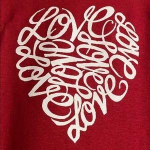 """NEW graphic LA pop art """"love"""" T-shirt unisex"""